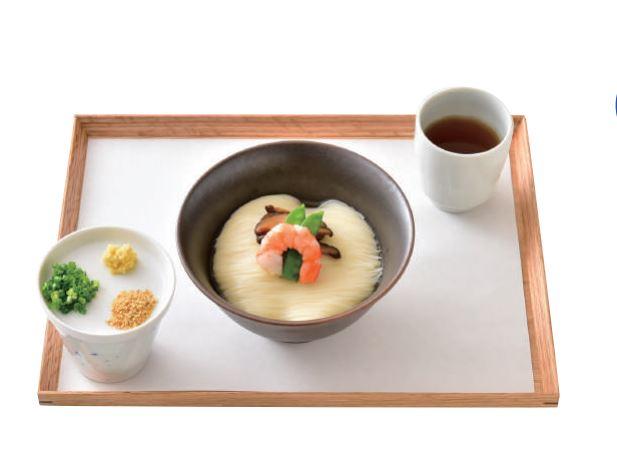 三輪ソーメン冷やしソーメン880円