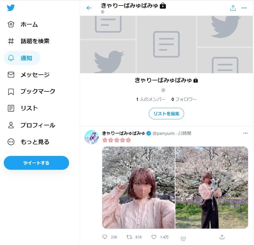 Twitterで気になる人だけのツイートを見る方法06